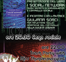 "Presentazione del libro ""I Social Network"" + Trash Party"